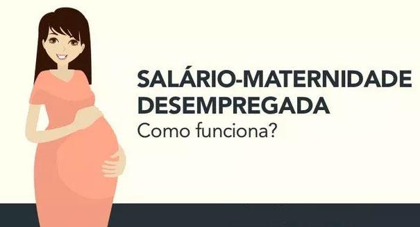Desempregada tem direito a licença maternidade?